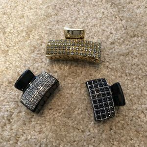 India Boutique Jewelry - Shiny hair clips